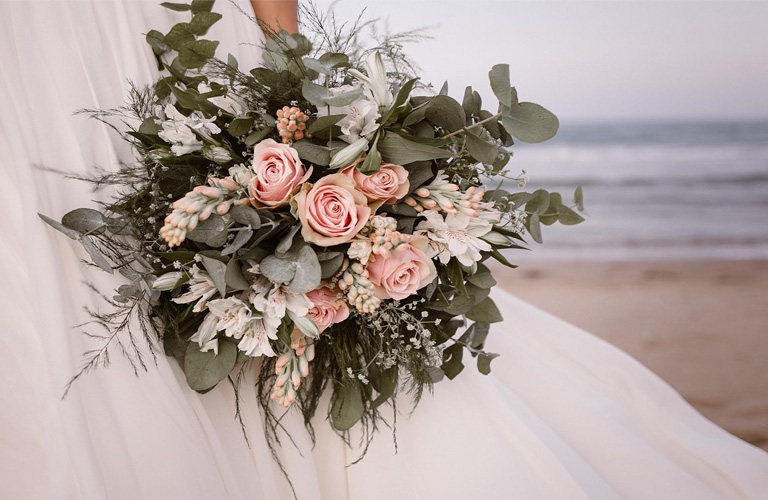 Beach Wedding Bouquet Small